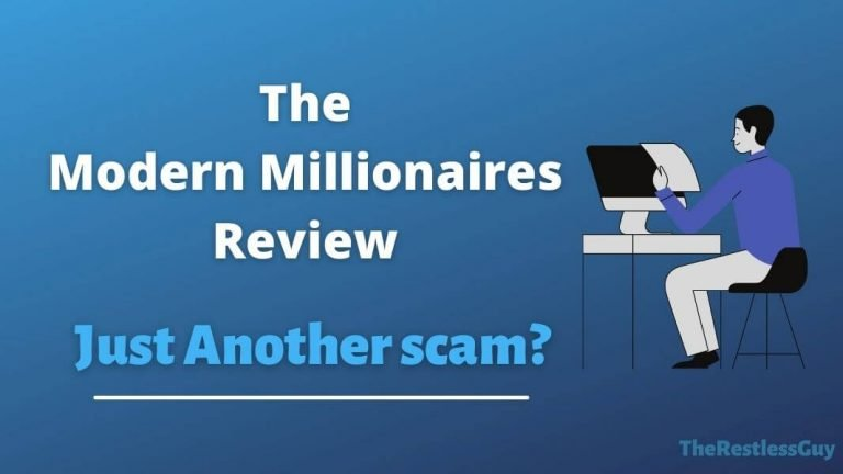 Modern Millionaires Scam Review; Is This Even Worth It?