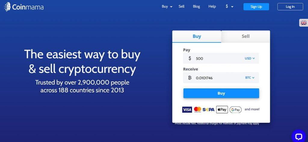 Coinamama bitcoin commission