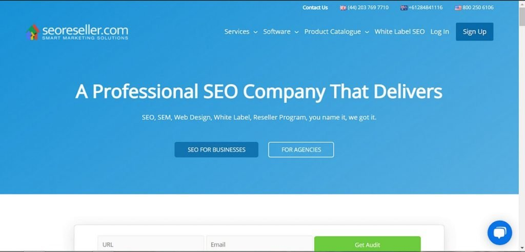 SEO Reseller affiliate product
