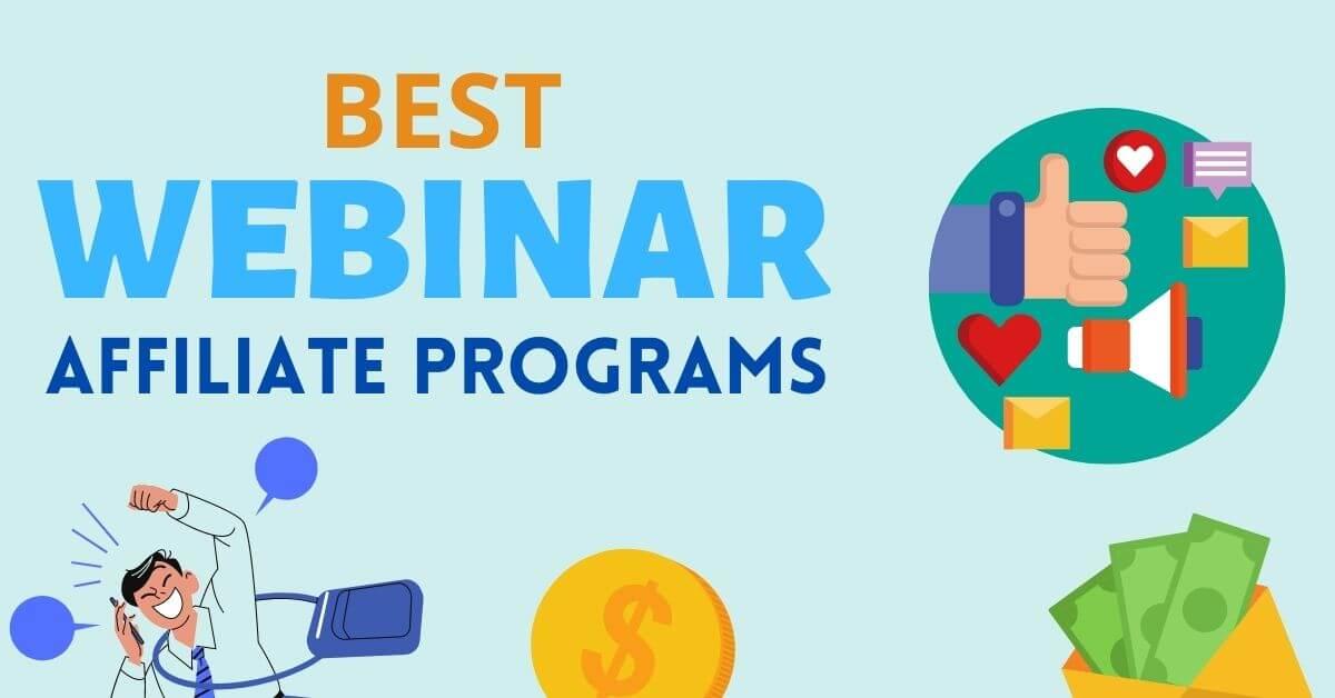 Best webinar affiliate programs